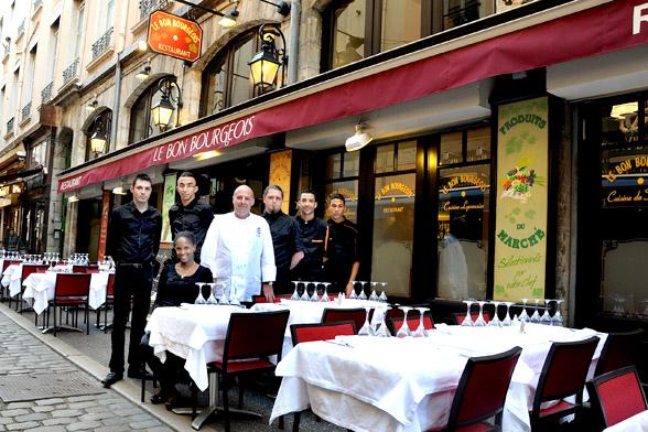 Clap de faim pour franck baldassini comptoir brunet lyon saveurs - Comptoir de famille lyon ...