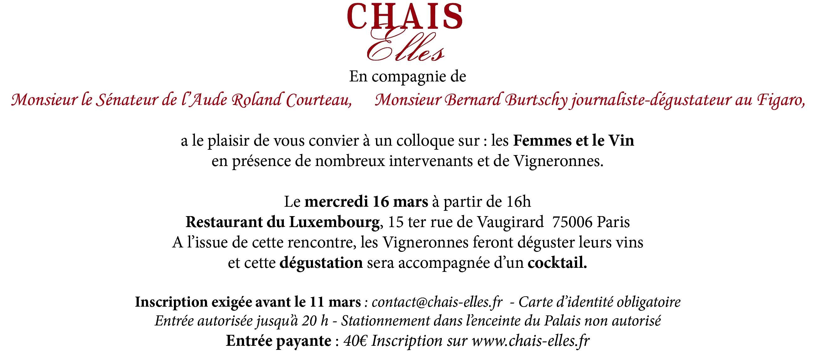 Chais Elles Invit