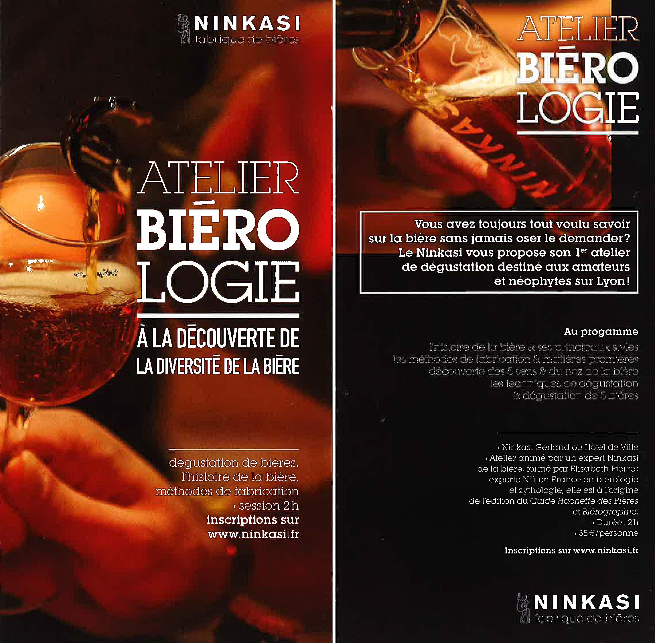 Ninkasi Biérologie