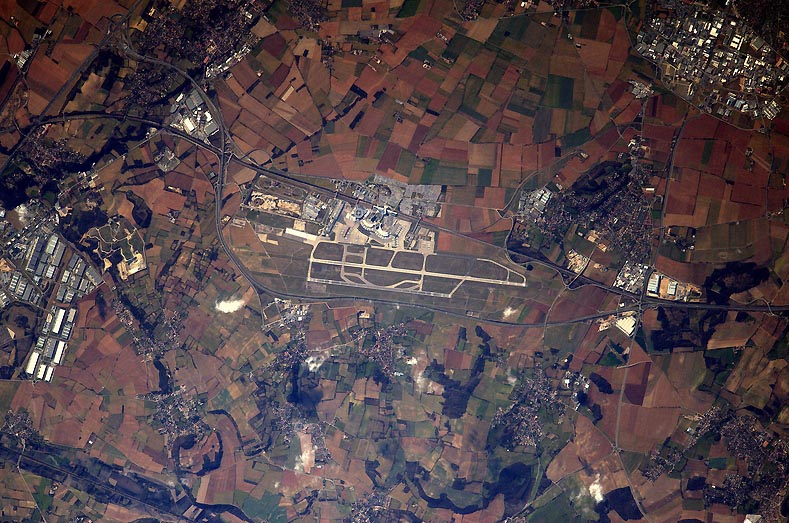 Aéroport St Exupéry Thomas Pesquet