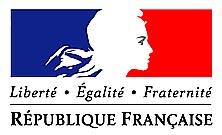 République française Drapeau