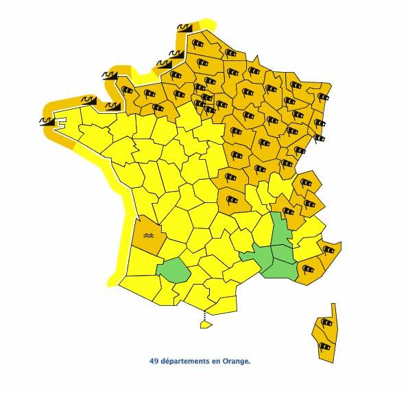 Météo France 3 Janv