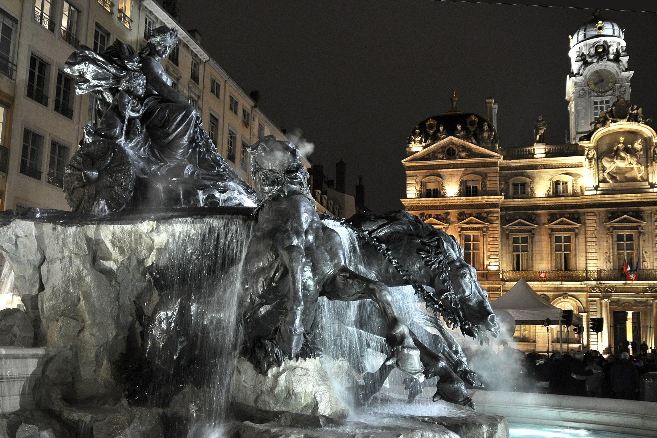 Fontaine Bartholdi Terreaux ©Godet_0255