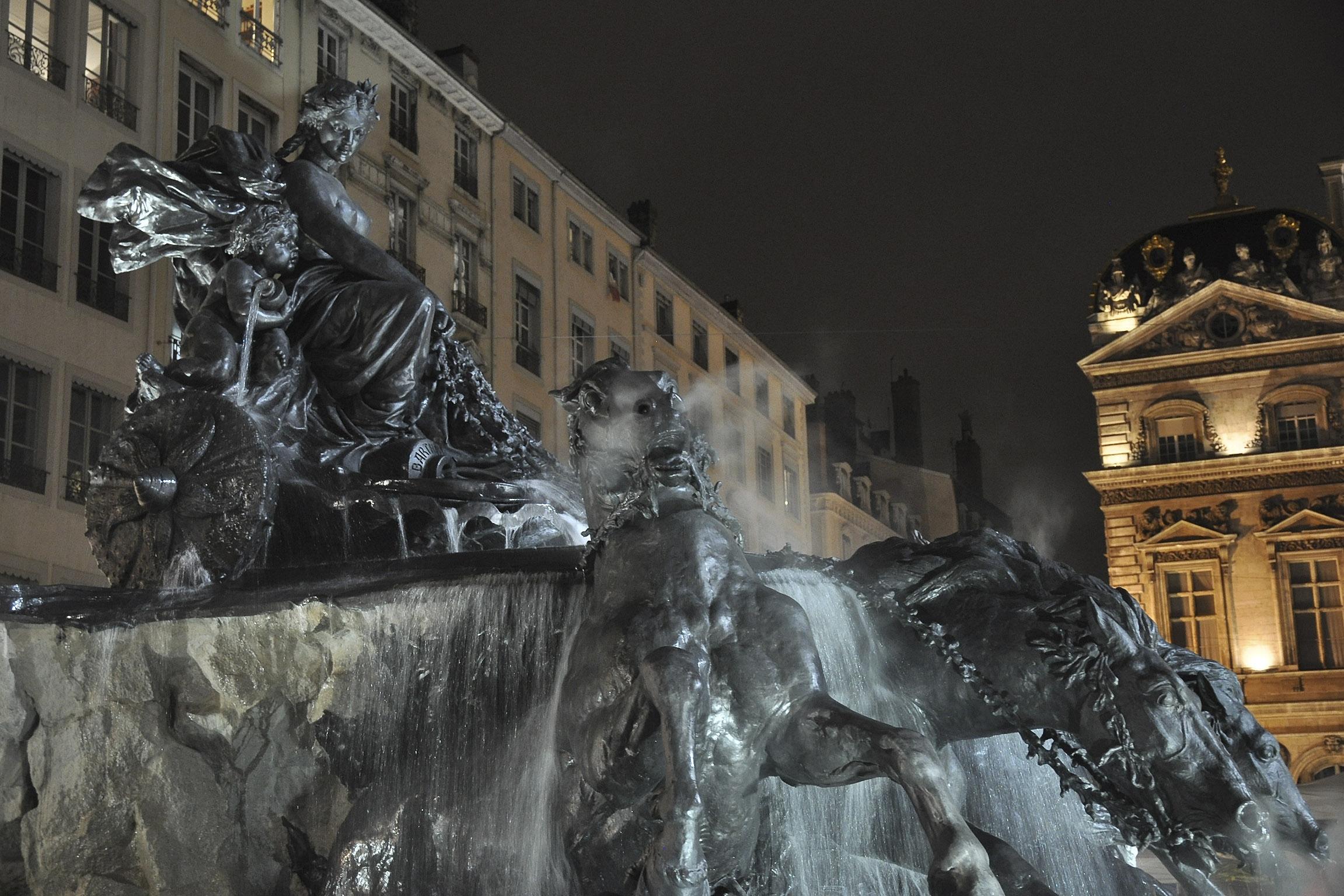 Fontaine Bartholdi Terreaux ©Godet_0326