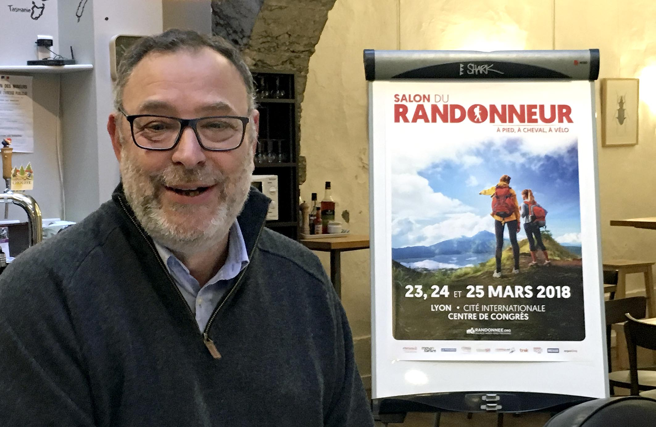 Salon du randonneur la fili re tient salon et a marche for Salon du randonneur lyon
