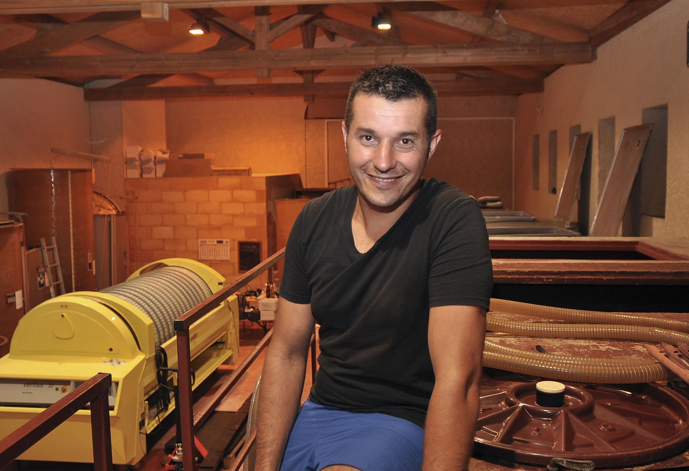 Olivier Pezenneau du domaine éponyme