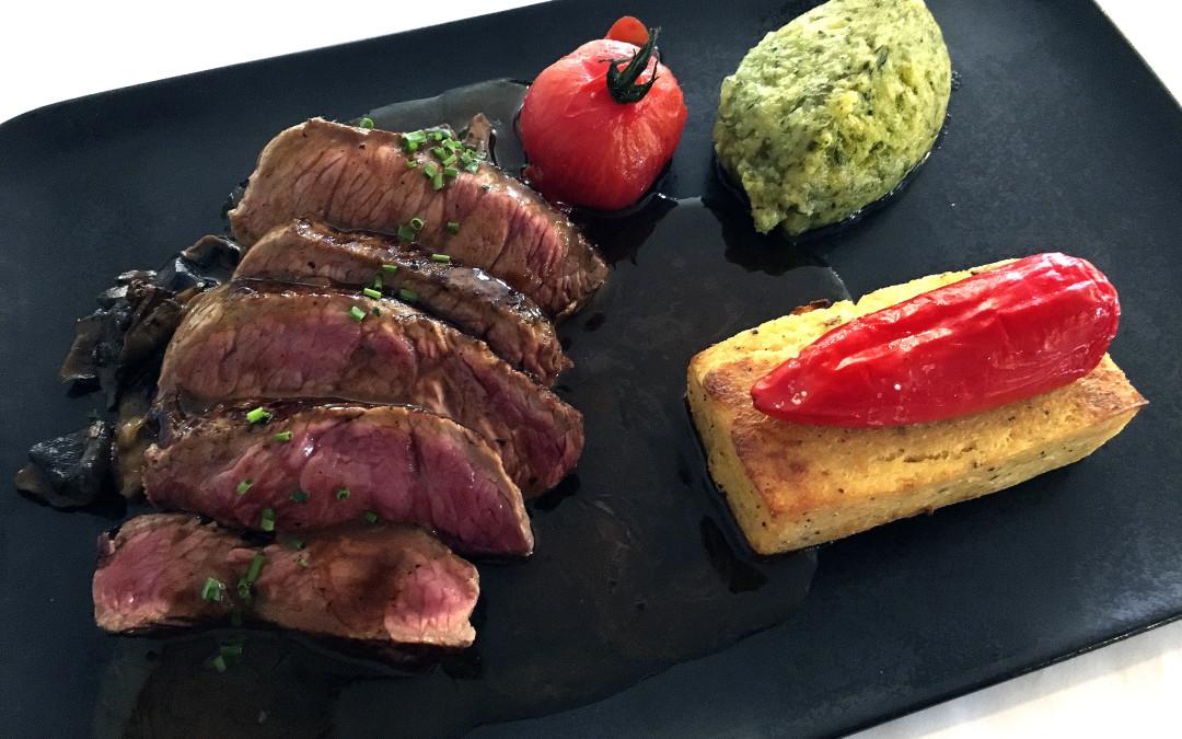 Restaurant 2 le Gare - Pavé d'AUbrac ©Godet_6443