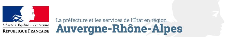 Logo préfecture Auvergne Rhône Alpes