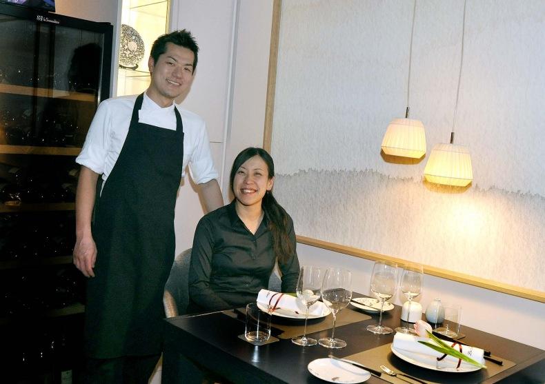 Shoko Hasegawa et Takafumi Kikuchi