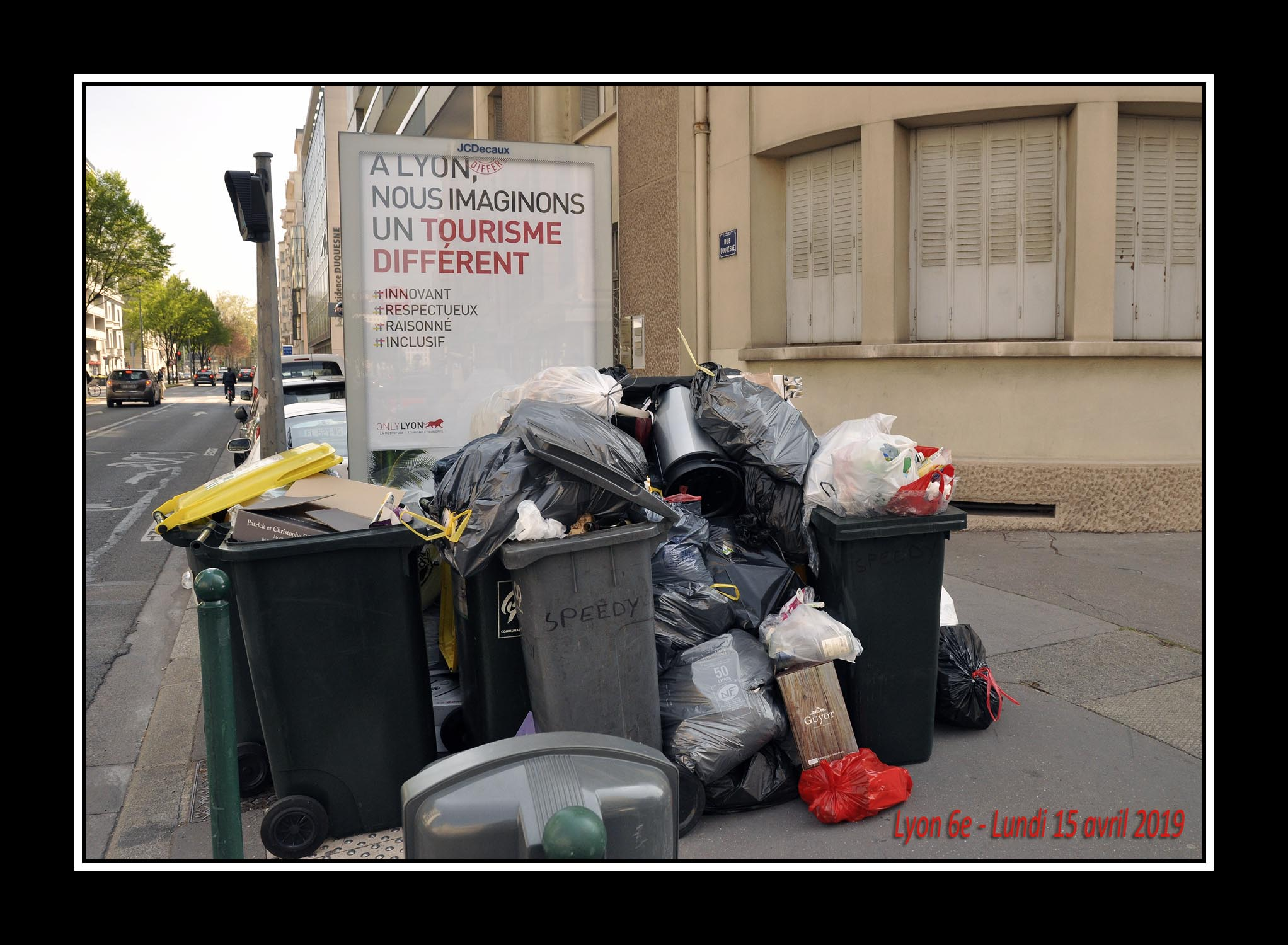 Grève éboueurs Lyon Avril 2019 ©Godet_0036