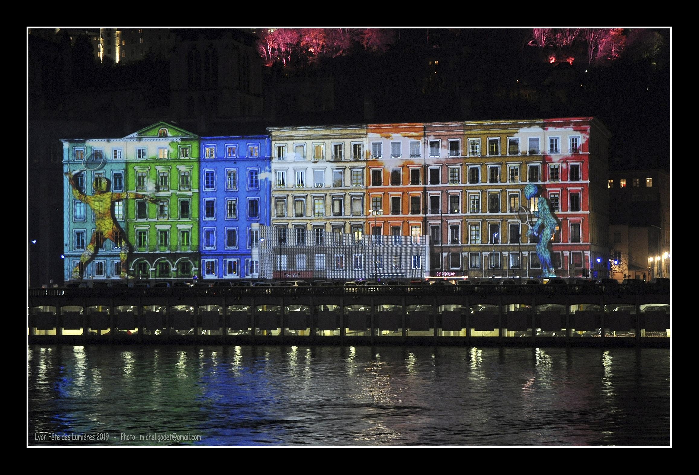 Lyon Fête des Lumières 2019 ©Godet_0302