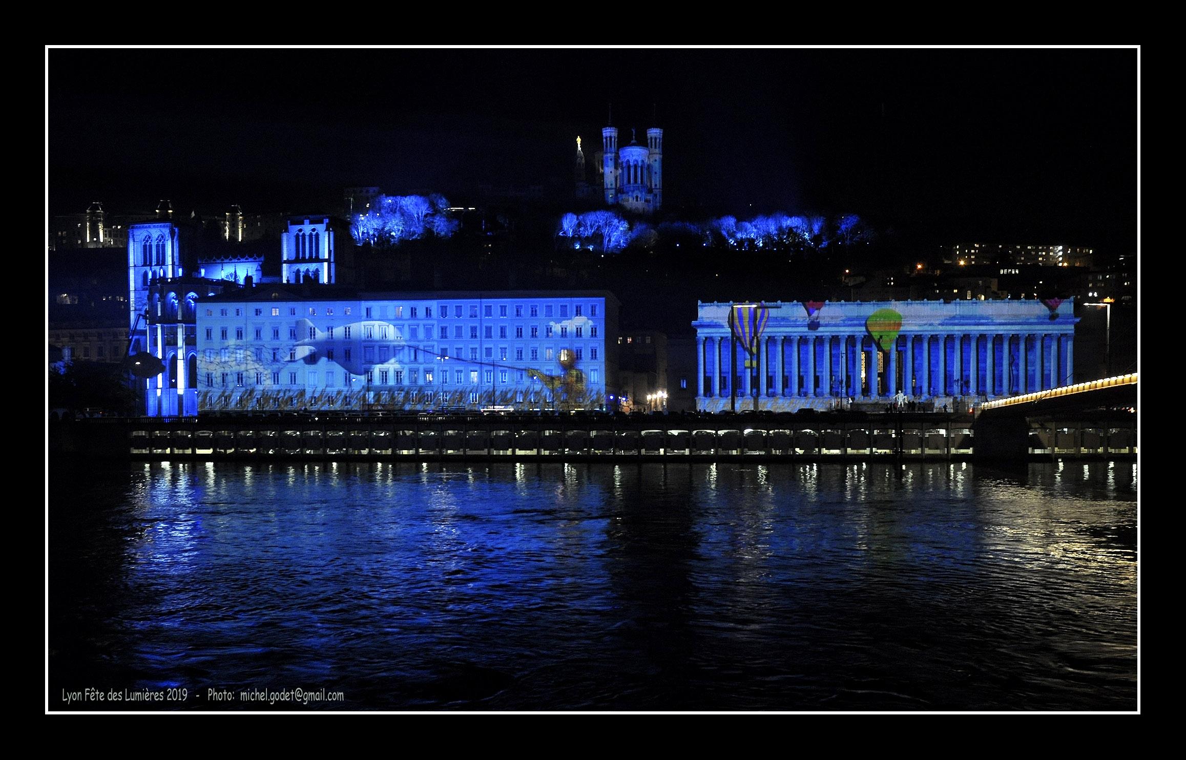 Lyon Fête des Lumières 2019 ©Godet_0327