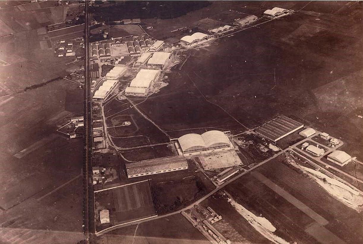 Vue1 aérienne Bron en 1925