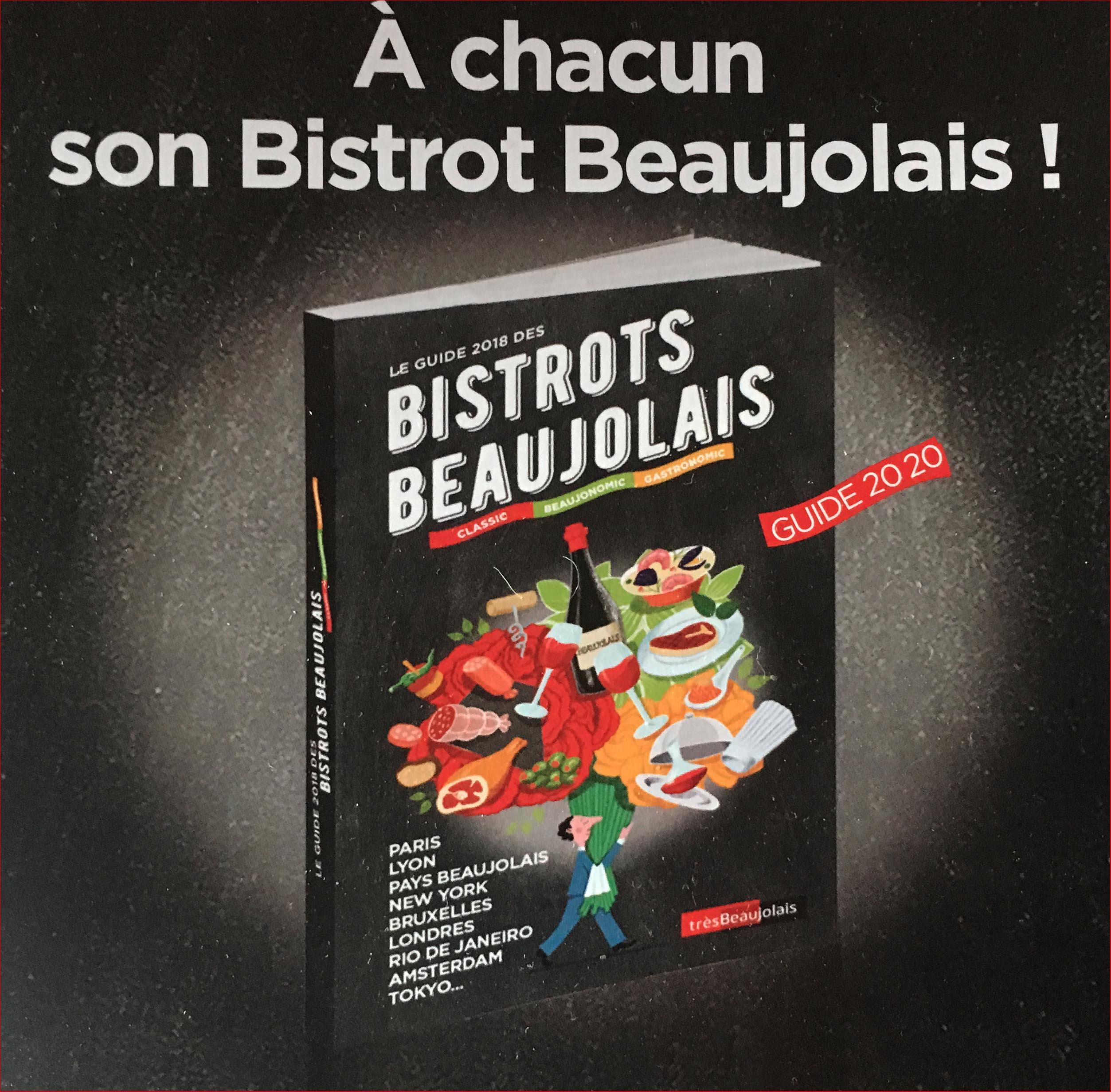 Guide Bistrots Beaujolais