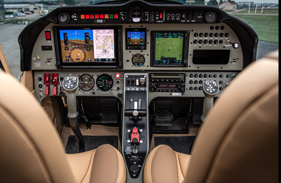 Robin DR 410 Pilotage